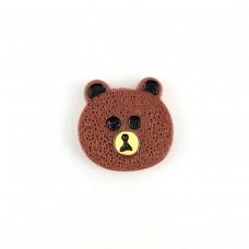 Chocolate Bear Head