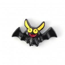 Black bat with yellow ears