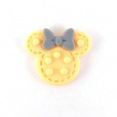 Mickey's head in a pimple