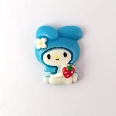 Bunny in a blue cap