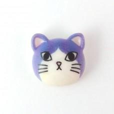 Cat's head purple