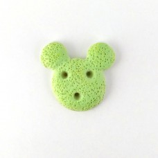 Green cookies in the form of Mickey
