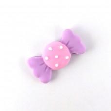Purple Polka Dot Candy