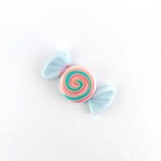 Candy blue spiral