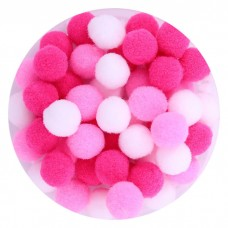 Pom Poms Pink