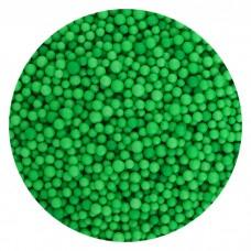 Foam balls dark green 1 pack.