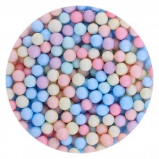 Foam balls multi-colored (large) 1 pack.