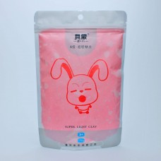 Clay Bunny bright red