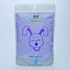 Clay Bunny, light purple
