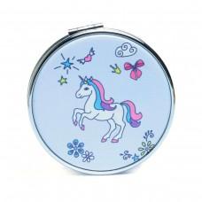 Mirror unicorn with butterflies