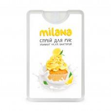 "Spray hand antiseptic ""Milana"" lemon dessert 20 ml"